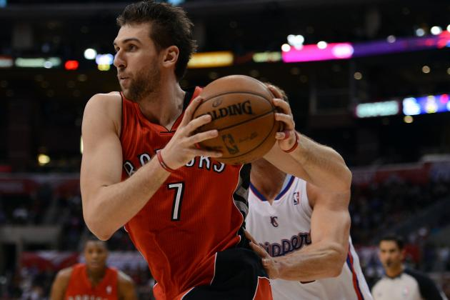Andrea Bargnani Injury: Raptors Big Man Has Become Officially Untradable