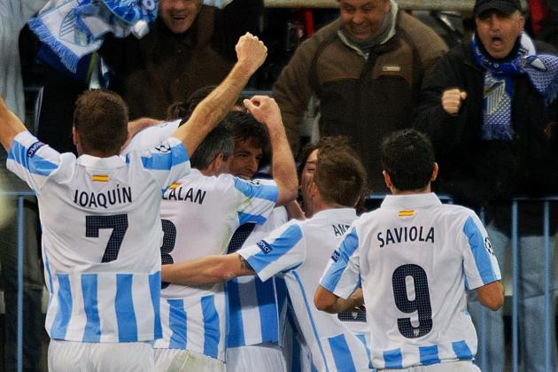 Champions League: 3 Spanish Teams into Last Eight After Malaga Beat Porto