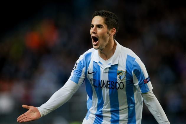 Malaga Score Twice, Send Porto Packing