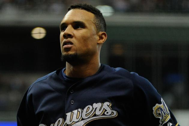 Brewers Sign Carlos Gomez to Three-Year Extension Through 2016