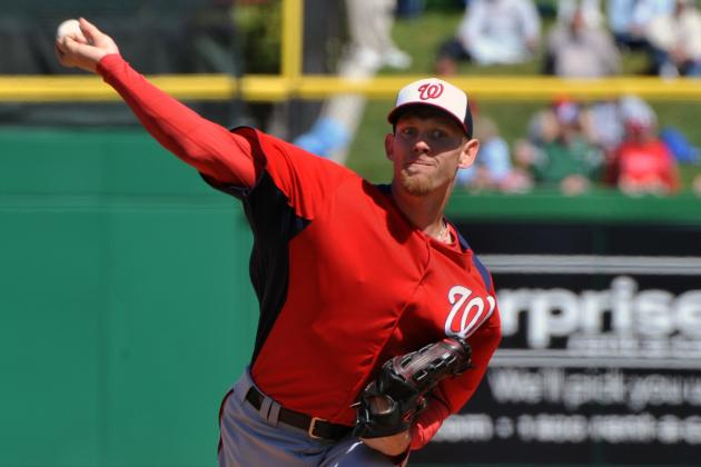 Stephen Strasburg's Lack of Innings Limit Means More Than Starting Opening Day