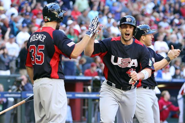Away from Mets' Doldrums, Wright Flourishing for U.S. on WBC Stage