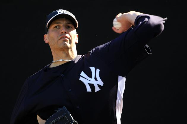 Andy Pettitte Allows 1 Run in 3+ IP in Spring Training Debut