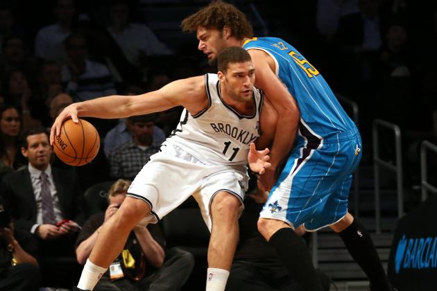Brook Lopez and Andray Blatche Make a Great Pair for Brooklyn Nets