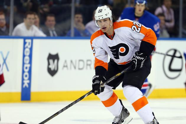 Luke Schenn Late Scratch Against New Jersey