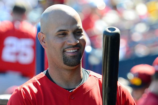 Albert Pujols Is Able to Run the Bases on His Own Now
