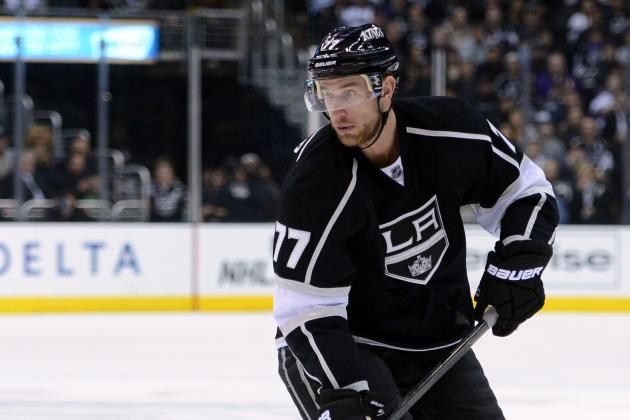 Kings' Jeff Carter Is Quick on the Draw