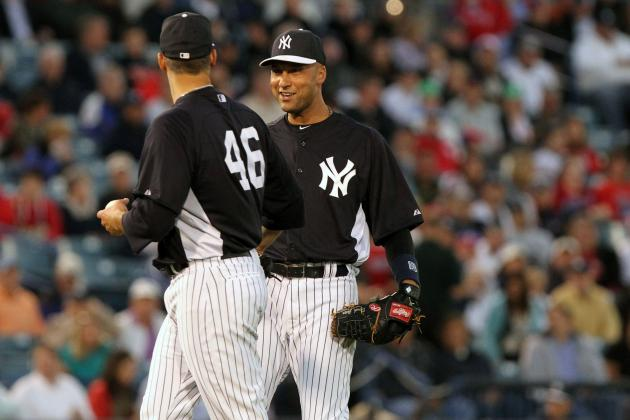 Jeter Plays SS for First Time Since Injuring Ankle