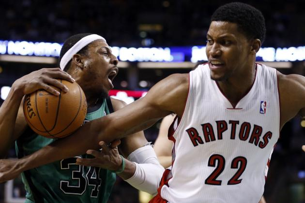 Raptors Roughed Up by Celtics in Boston