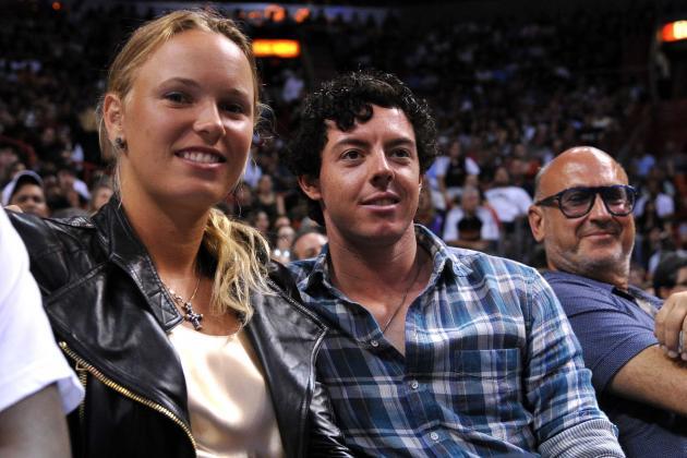 McIlroy Rises Above Wozniacki's Fitness Challenge