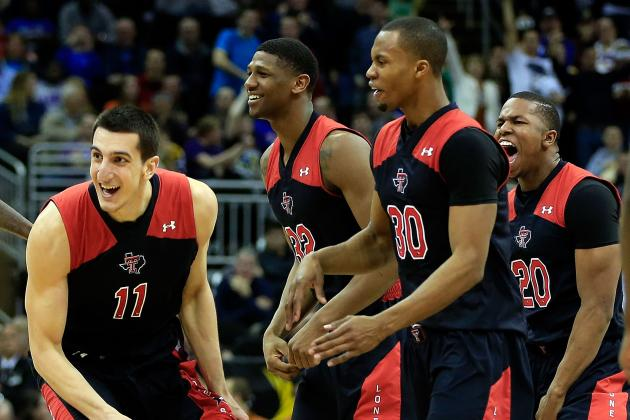 Dejan Kravic Beats Buzzer, Sends Texas Tech to Big 12 Tournament 2nd Round