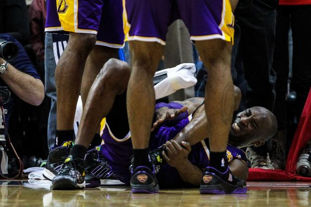 Will Kobe Bryant's Ankle Sprain  Impact LA Lakers' Playoff Chances?