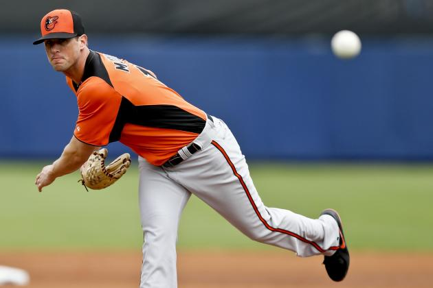 Matusz Almost Perfect in Four Innings (O's Win 9-4)
