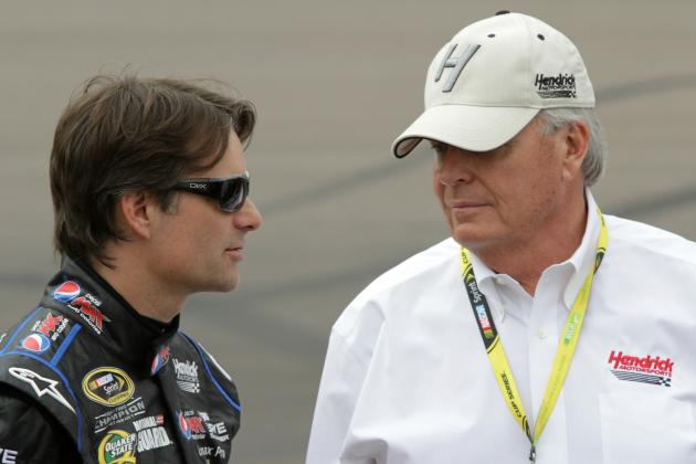 Sprint Cup Star Jeff Gordon's Career Is Just About Done