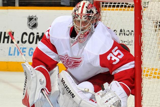 Red Wings Making Progress in Contract Talks with Jimmy Howard