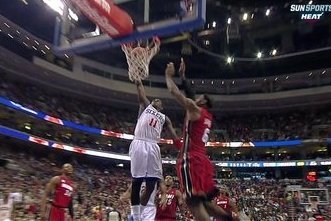 LeBron Gets Dunked on
