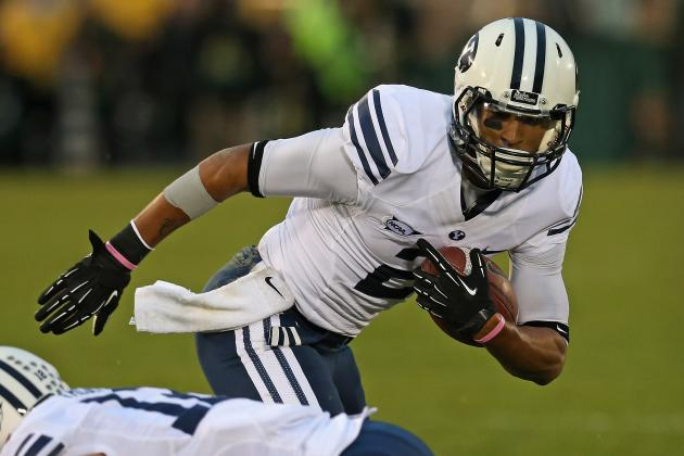 BYU's Rehabbing Hoffman Celebrates Birthday During Spring Football