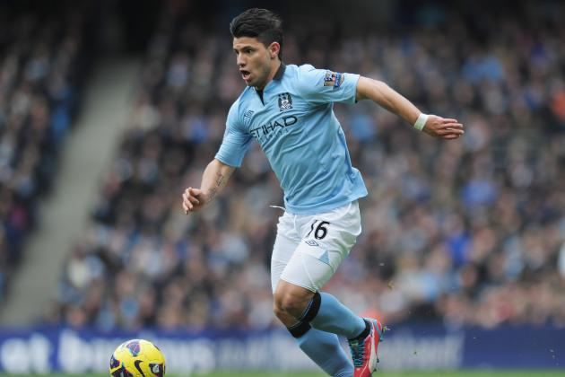 Sergio Aguero All Set to Miss Goodison Showdown