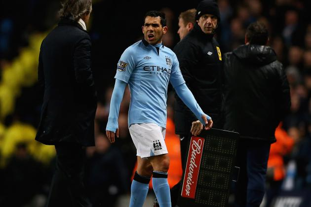 Manchester City Plan Summer Talks with Tevez