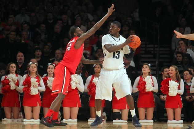 Yarou Leads Villanova over St. John's at Big East