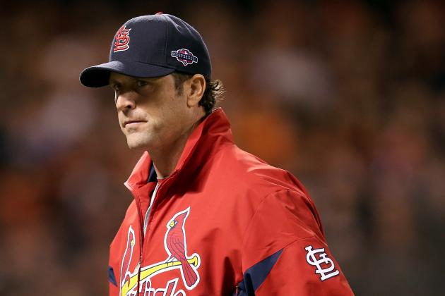 Matheny Returns to Cards After Back Surgery