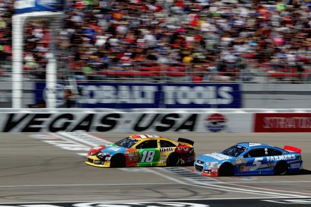 Kyle Busch Describes Daring Pass at Las Vegas, Learning NASCAR's New Gen-6 Car