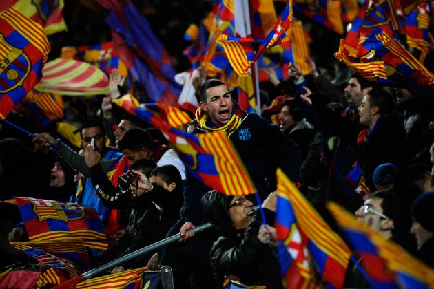 Barcelona's Xavi: Camp Nou Atmosphere a Marvel