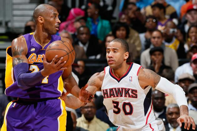 Dahntay Jones Denies Trying to Hurt Kobe