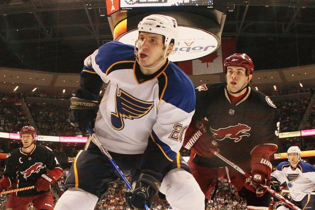 Blues Activate Steen off IR