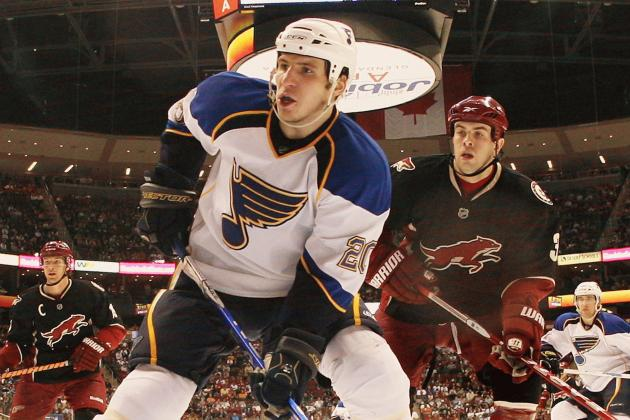 Blues Activate Steen from IR After Eight-Game Absence