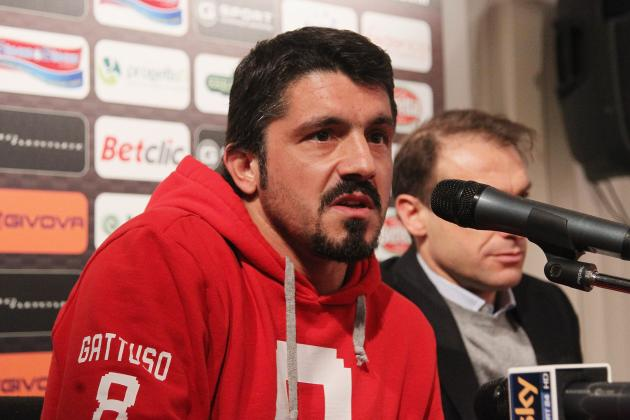 Berlusconi Wanted Gattuso to Be AC Milan Boss