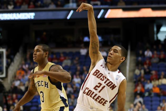 Boston College Star Olivier Hanlan Drops 41 Points in Win over Georgia Tech