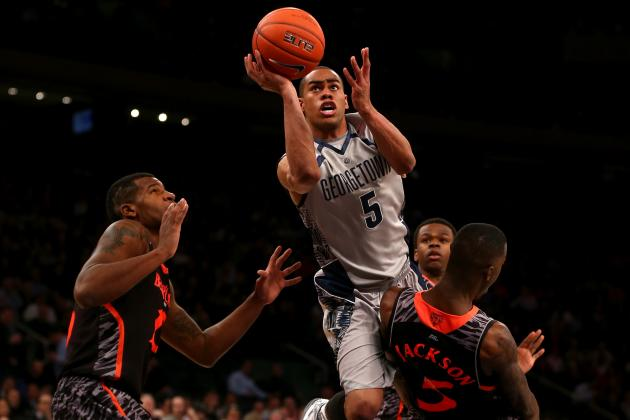 Big East Tournament: Cincinnati Loses to Georgetown, 62-43