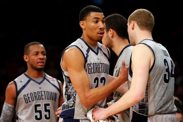 No. 5 Georgetown Pulls Away from Cincinnati