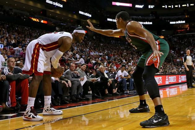 LeBron & Wade's Miami Heat Look to Push Win Streak to 21 Against Scrappy Bucks
