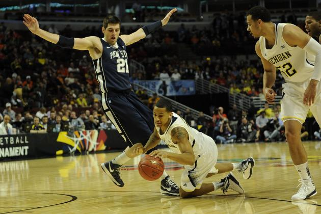 Michigan vs. Penn State: Live Score, Analysis for Big Ten Tournament 2013
