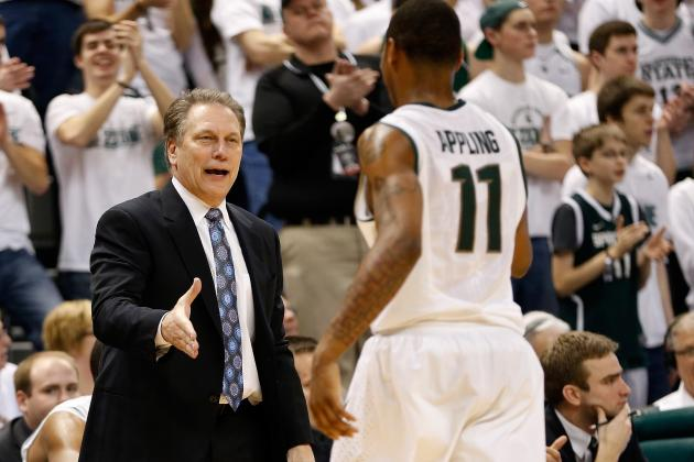 Big 10 Tournament 2013: Why Michigan State Will Win against a Deep Field