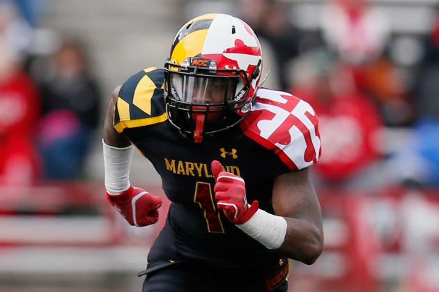 Against Top-Tier Receiving Corps, Maryland's Secondary Is Challenged Daily