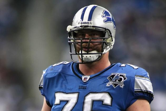Lions Left Tackle Jeff Backus Retires