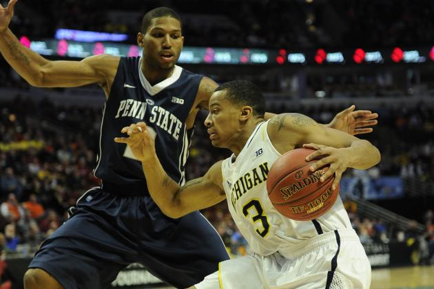 Michigan Uses Huge Second Half to Blitz Penn State, 83-66