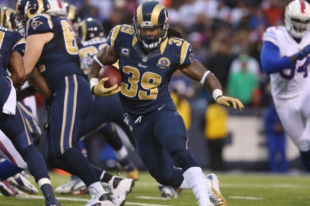 Atlanta Falcons Reportedly Reach Deal with Ex-Rams Running Back Steven Jackson