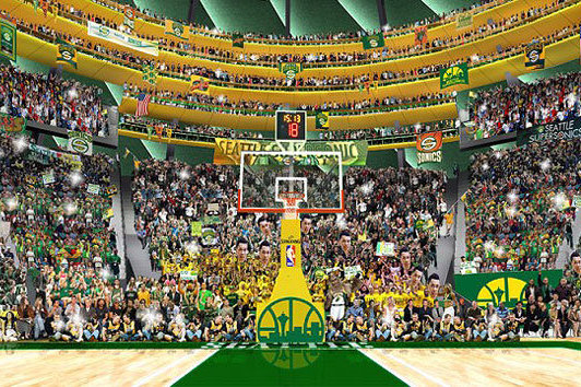 Potential SuperSonics Owners Release Pictures of Amazing New Arena