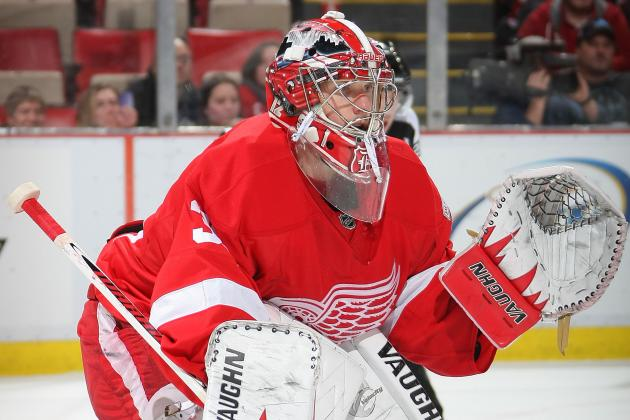 Red Wings' Jimmy Howard, Ian White Feeling Better After Stomach Issues