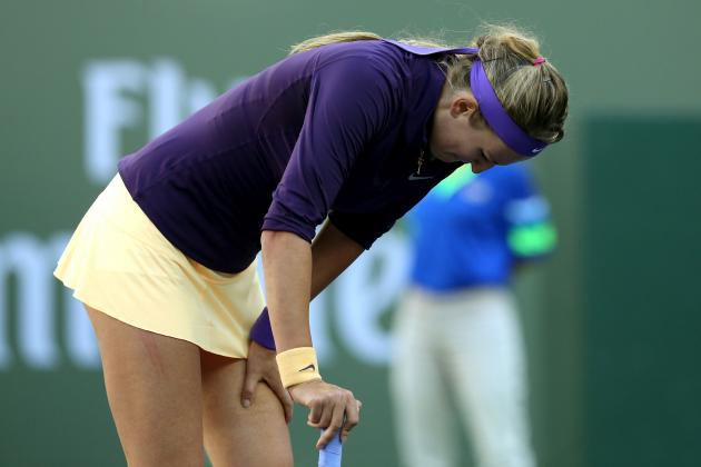 Azarenka and Stosur Withdraw from Quarters