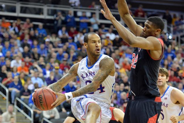 Jayhawks Knock out Red Raiders, 91-63