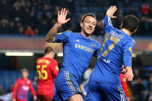 Chelsea 3-1 Steaua Bucharest: Chelsea Through to Europa League Quarterfinals