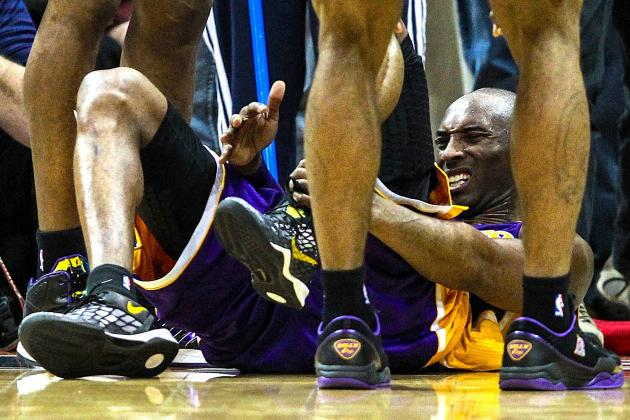 NBA Confirms Kobe Bryant Was Fouled on Ankle-Spraining Play vs. Hawks