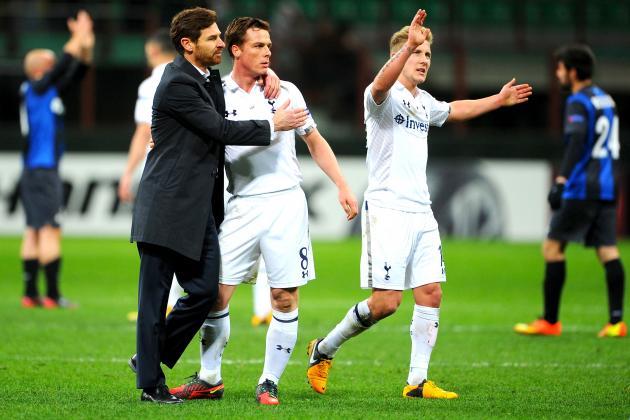 Tottenham Hotspur Fall 4-1 at Inter but Slip into Europa League Quarterfinals