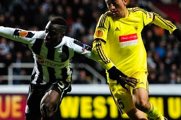 Newcastle 1-0 Anzhi (Agg 1-0)