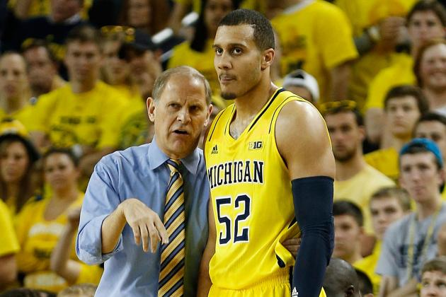Beilein Won't Say If He'll Leave Struggling Jordan Morgan in Starting Lineup